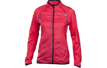Asics Convertible  jacket Femme rose/noir